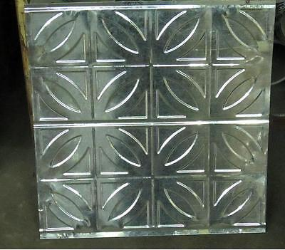 Original Antique Design #2 Metal Ceiling Panel 24 In X 24 In 30 Ga. Nr $14.