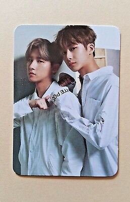 MONSTA X Open Broadcast Fighter OFFICIAL PHOTO CARD Photocard - Hyungwon & I.M