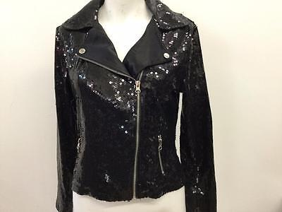 Dance Costume Extra Large Child Black Jacket Solo Competition Pageant Glitz