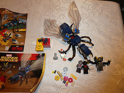LEGO 76039 Super Heroes Ant-Man Final Battle not complete
