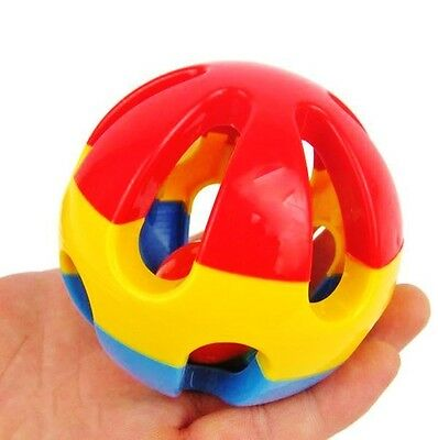 Parrot Ball ** Extra Strong ** Rattles ** Macaw African Grey Amazon Cockatoo Toy