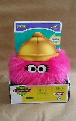 NEW The Furchester Hotel ISABEL Interactive Soft Toy Figure Sesame Street 18M+