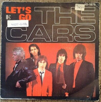 THE CARS - Let's go - single - vinilo - 1979
