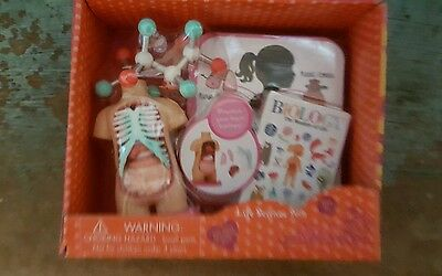 """Our Generation LIFE SCIENCE SET Lab Biology Anatomy for 18"""" Doll"""
