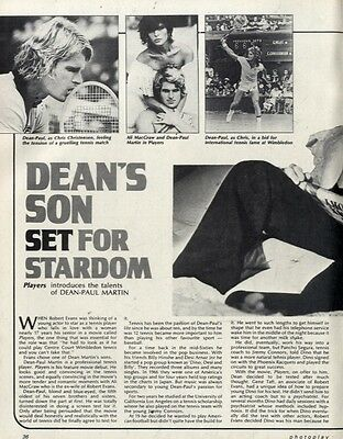 Dean Martin's Son Dean-paul Martin Set For Stardom Article & Picture(S)