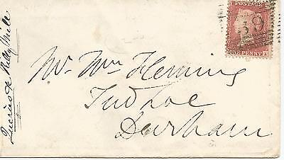 RARE KILTARLITY  HANDSTAMP ON QV COVER WITH 1d RED FROM BEAULY REF 474