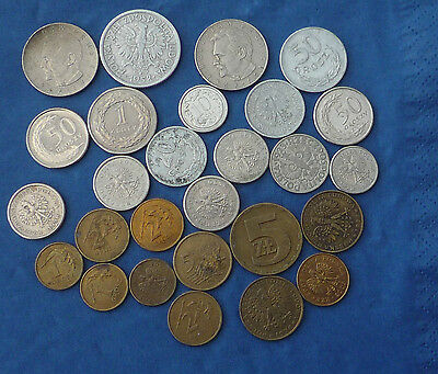 Poland Collection of old coins - Ref FBC288