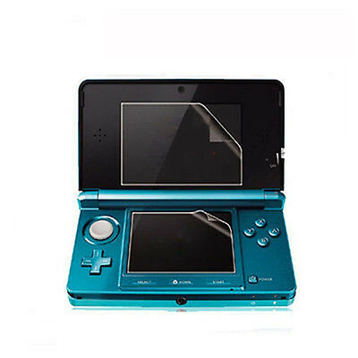 Clear Top +Bottom LCD Screen Protector Cover Filter Skin For Nintendo 3DS XL LL