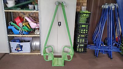 Hills Playtime Swing Set - Attachment Only - Boat Swing Complete - Used