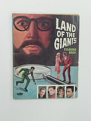 Vintage 1969 Land Of The Giants Coloring Book