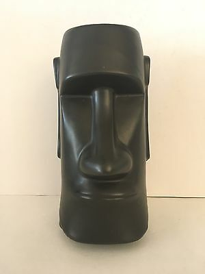 VTG Black Moai Tiki BAR Mug OTAGIRI The Fireside Ft Atkinson WISCONSIN Souvenir