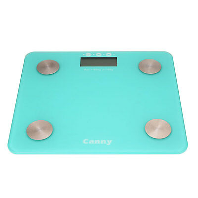 Personal Bathroom Body Fat Glass Electronic Weight Heath Fitness LCD Scale 180kG