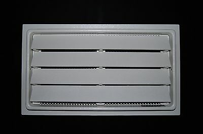"Engineered Flood Vent 8"" x 16"" - White FEMA Compliant NFIP Foundation Crawlspace"