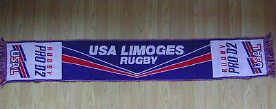écharpe rugby  USAL   LIMOGES
