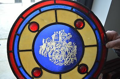 Old Stained glass panels Job lot