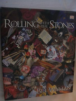 Rolling With The Stones by Bill Wyman Hardback Book