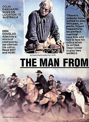 Kirk Douglas The Man From Snowy River Article & Picture(S)