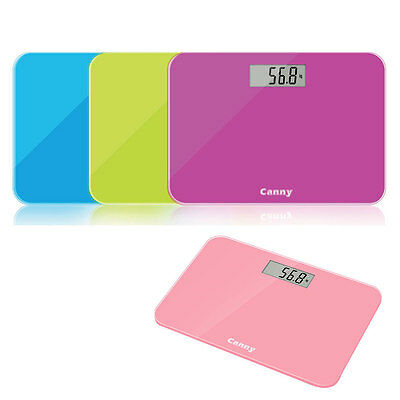 Digital Bathroom Body Glass Weight Heath Fitness Electronic Scale 180kG