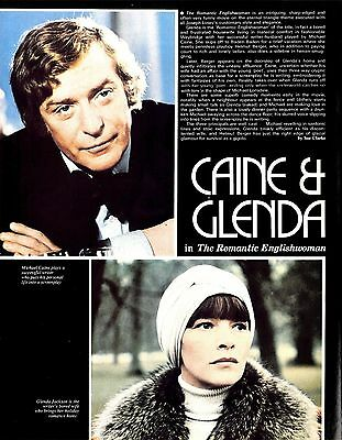 Michael Caine & Glenda Jackson In The Romantic Englishwoman Article & Picture(s)