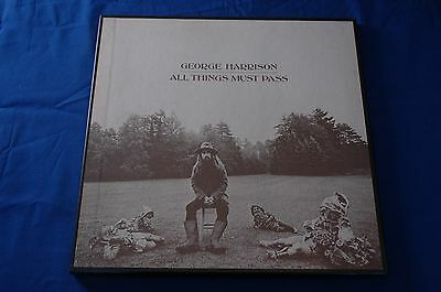 GEORGE HARRISON All Things Must Pass 3x LP Box Set APPLE STCH 639 1970 UK All NM