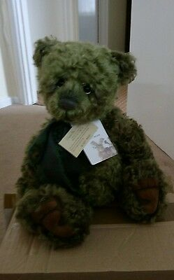 Charlie Bear Wiggie - Limited Edition Isabelle Lee Collection
