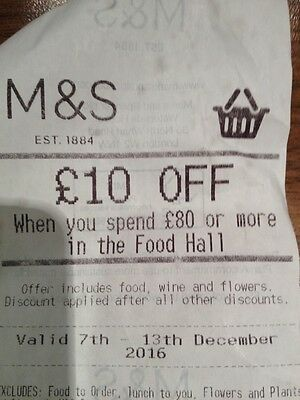 Marks And Spencer M&S £10 Off £80 Shop