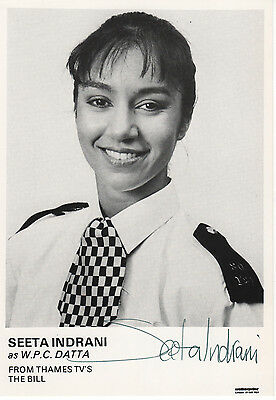 """Signed The Bill Wpc Datta  Seeta Indrani Hand Signed  6""""  X 4"""" Photo"""