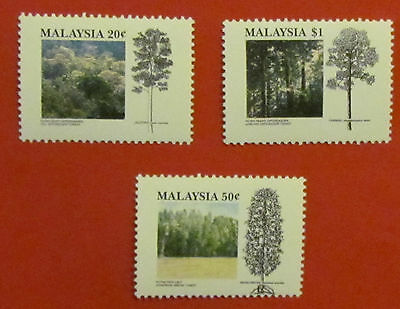 Malaysia Postage Stamps Trees   mint