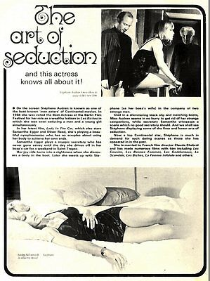 Stephane Audran : The Art Of Seduction Article & Picture(S)