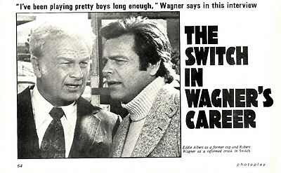 The Switch In Robert Wagner's Career Article & Picture(s)