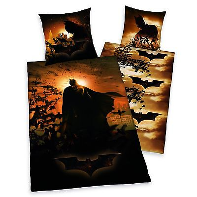 Batman vs Superman Single Reversible Cotton Duvet Cover + Pillow Case Polyester