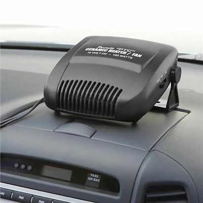 12v Ceramic Car Auto Heater Defroster 2in1 Hot & Cool Fan Van Dual Setting