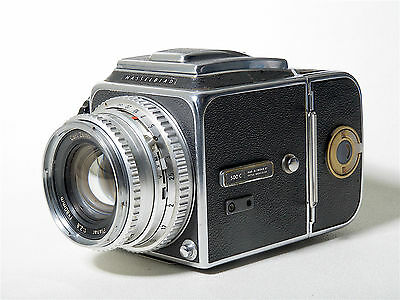 Hasselblad Classic 500C Full Working La Hassel Clasica Zeiss Planar 80 A12 Excel