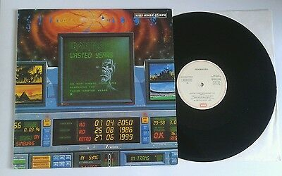 "Iron Maiden - Wasted years- single 12"" Spain press"
