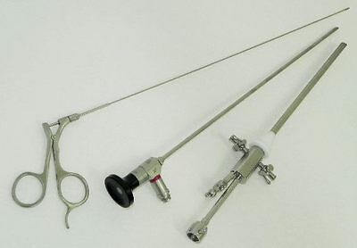 Hysteroscope Set 4mm with Sheath & 4.0 x 0 scope