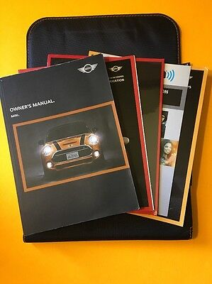 2015 Mini Cooper Owners manual, 2 Book Set with original case
