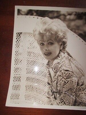 Lucille Ball....beautiful The Lucy Show Original Cbs Black & White Press Photo