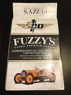 FUZZY'S VODKA 2016 100th RUNNING INDIANAPOLIS 500 INDY BOX IMS rare