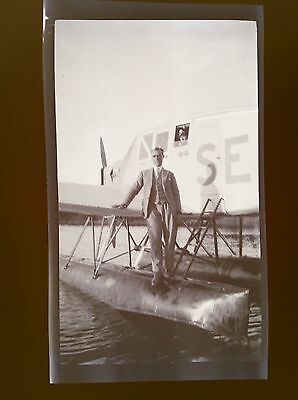 Orig NEGATIVE - FLYING BOAT - Unknown Type Of Airline