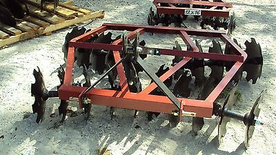New 3pt 6.5' tandem disc harrow WF2018