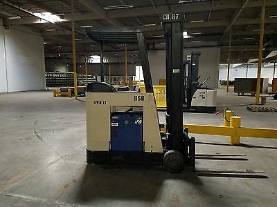 Crown Forklift Series RC3020-40 Stand-Up Dockstocker 36V 4000lb with charger