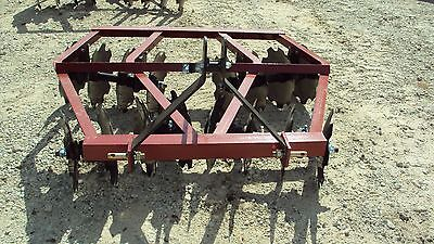 New 3pt 5.5' tandem disc harrow WF1616