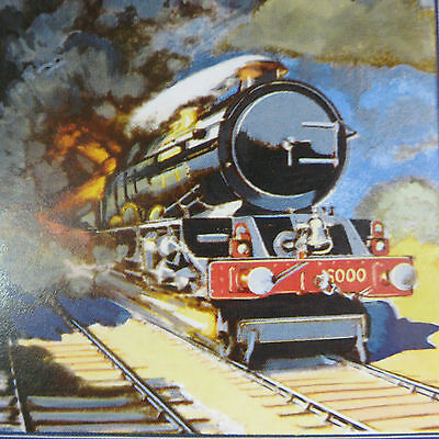 GWR Chad Valley, Vintage Wooden Jigsaw, 'Britain's Mightiest' King George V
