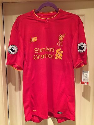 Liverpool Fc Mens Home Shirt 2016/17(brand New)