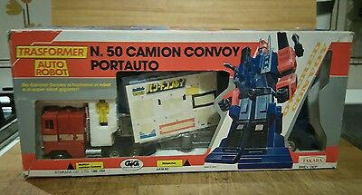 Takara Diaclone Trasformer CONVOY RED CAB GIG COMPLETO Made in Japan  BELLISSIMO