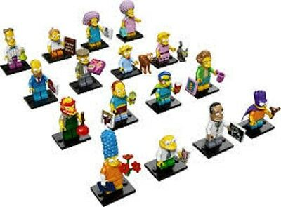 LEGO SIMPSONS MINIFIGURE SERIES 2 SET OF 16 minifigures complete NEW 71009