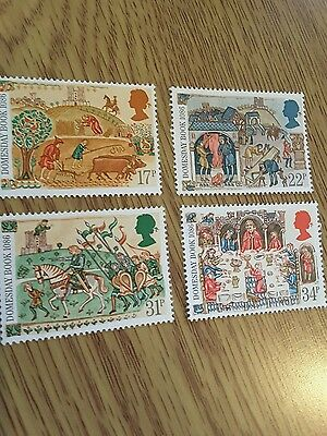Postage Stamps 1986 Domesday Book 900th Mint Stamp Set