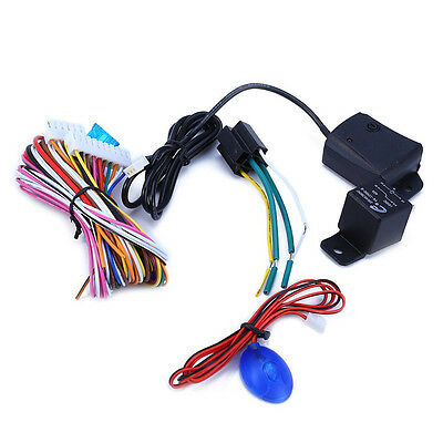 Car Alarm System One Way Remote Controls With Flip Keys And LED Status Indicator