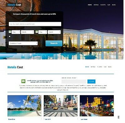 Automatic Money Making Website For Sale Flight,Hotel,Car Rental Search Engine