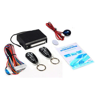Universal Car Remote Central Kit Door Lock Vehicle Keyless Entry System Hot New